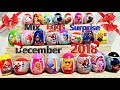 NEW! MIX Eggs With Super Surprise And Candy! December 2018