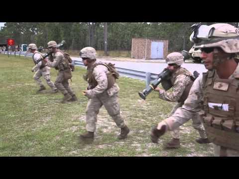 2/8 Marines Fire Rockets
