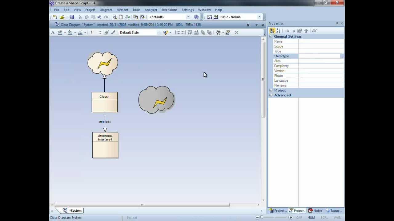 Shape scripts in sparx systems enterprise architect youtube shape scripts in sparx systems enterprise architect ccuart Images