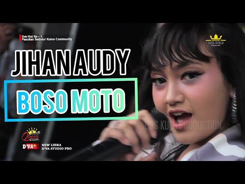 JIHAN AUDY - BOSO MOTO [ LIVE IN NGRONGGOT]