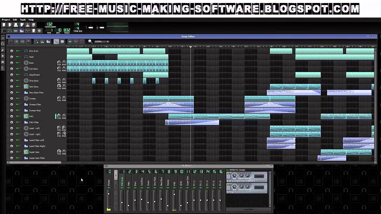 easy free music making software make hq music easy youtube