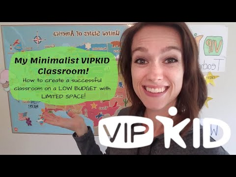 VIPKID Minimalist Classroom Setup - Teach From Any Room! - Low Budget And Easy Props And Rewards