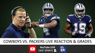 Cowboys vs. Packers LIVE Reaction To Dallas' 34-24 Loss vs. Packers In Week 5 - Fire Jason Garrett?