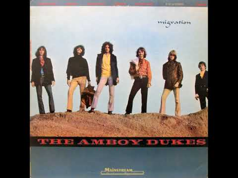 The Amboy Dukes  -  Migration 1969  (full album)