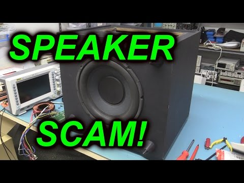 EEVblog #671 - White Van Speaker Scam Teardown