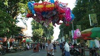 Abang Penjual Balon Karakter Tayo, Upin&Ipin, Kitty, Kucing, Kuda, Nemo | Cover Tayo the Little Bus