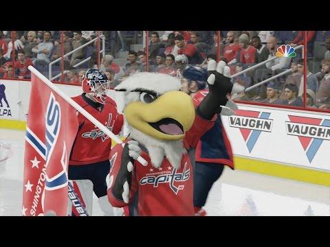 NHL 16 - New Jersey Devils v Washington Capitals [1080p 60FPS HD]