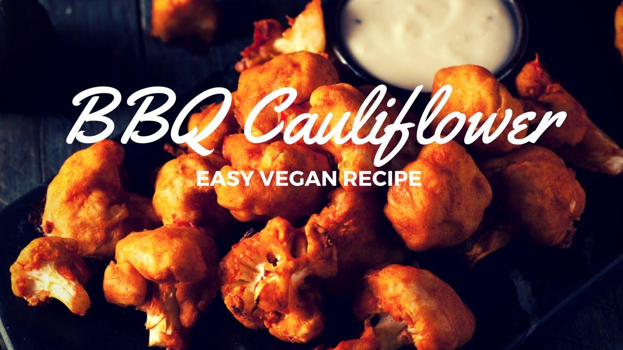 Bbq Cauliflower Wings Vegan Gluten Free Recipe
