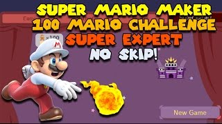 So Evil - Super Expert No Skip Challenge - Super Mario Maker