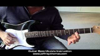 How To Play The Munsters Theme On Guitar