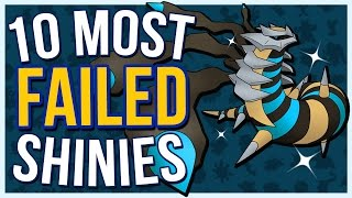 Top 10 Most FAILED Shiny Pokémon | Supreme Countdowns
