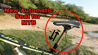 How to Install AUTOMATIC SEAT for any MTB | MODIFICATIONS