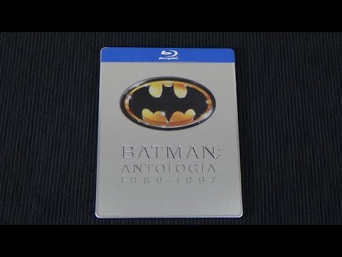 [Steelbook] Batman Antología 1989-1997 - Bluray