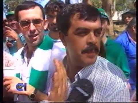 Sporting vence Taça de Portugal em 1994/1995, Festa dos adeptos no Jamor antes do jogo