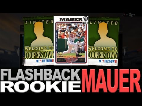 ROOKIE JOE MAUER PULL!! COOPERSTOWN PACKS | MLB THE SHOW 16 DIAMOND DYNASTY PACK OPENING