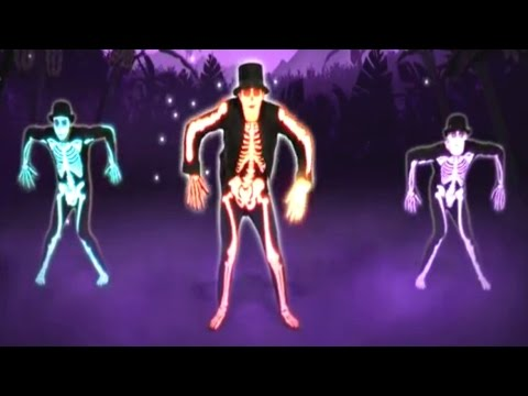 The Skeleton Dance | Just Dance Kids Game | Halloween Song: Day O | Baby Hazel Rabbit