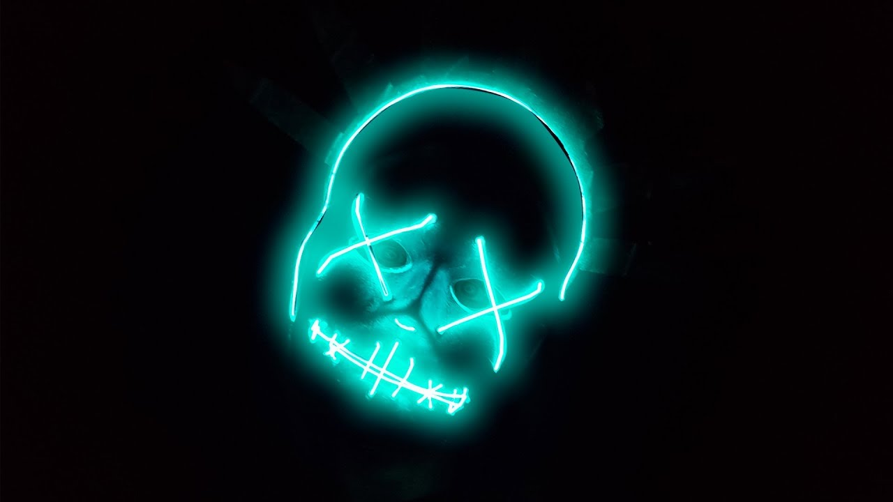 Máscara De La Purga Con Luces Led Para Halloween Diy Te Digo Cómo Youtube