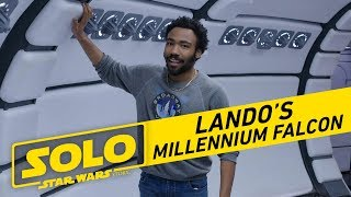 Tour The Millennium Falcon with Donald Glover