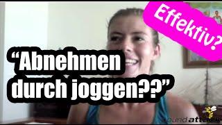 """Abnehmen durch joggen - """"NICHT sehr EFFEKTIV?"""" - Die Wahrheit über den Mythos """"Joggen und abnehmen"""""""