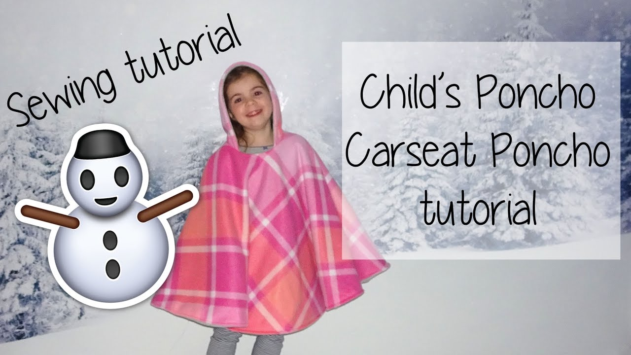 EASY Childs Poncho Car Seat