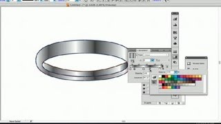 How to Draw a Wedding Ring in Illustrator : Using Adobe Illustrator
