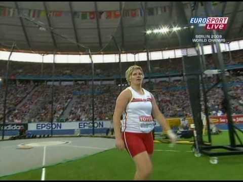Anita Włodarczyk 77.96m - WR - Hammer throw (Rzut młotem) [chwdTVP]