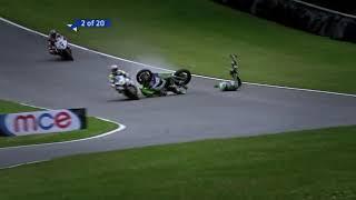 BSB - James Ellison's Big Crash at Brands Hatch
