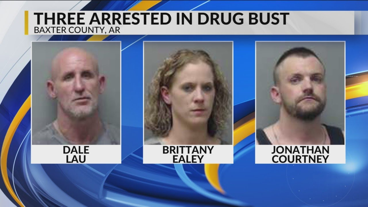 Three Arrested in Baxter County with 26 Pounds of Marijuana