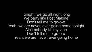Sam Feldt- Post Malone Lyrics
