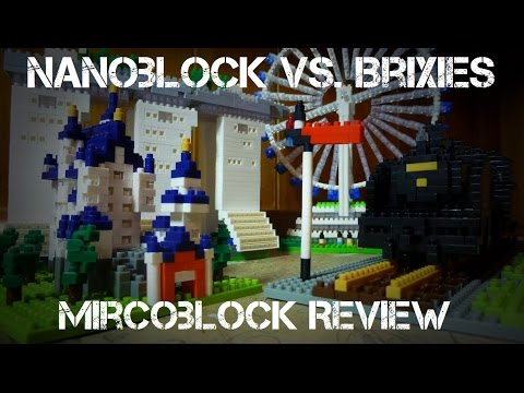 Nanoblock Vs. Brixies: Mircoblock MEGA In Depth Review!