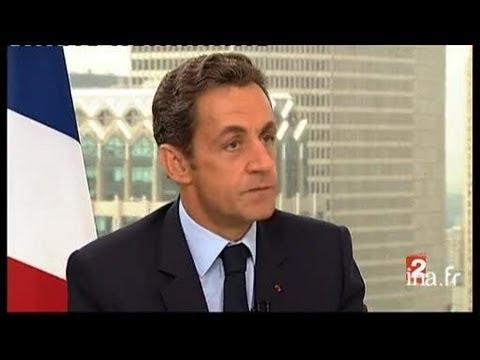 Interview du président de la République Monsieur Nicolas Sarkozy