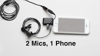 2 Mics 1 Phone: Recording 2 Lavs with Your SmartPhone RODE smartLav+(, 2014-07-23T14:57:05.000Z)