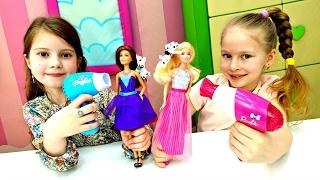 Куклы Барби в Салоне Красоты! Игры ПАРИКМАХЕРСКАЯ 💄 NEW Мультики про Барби 💅 Видео для Девочек(Куклы Барби в Салоне Красоты! NEW мультики про #Барби  Видео для девочек и игры #парикмахерская! К Злате в..., 2017-02-01T11:02:19.000Z)
