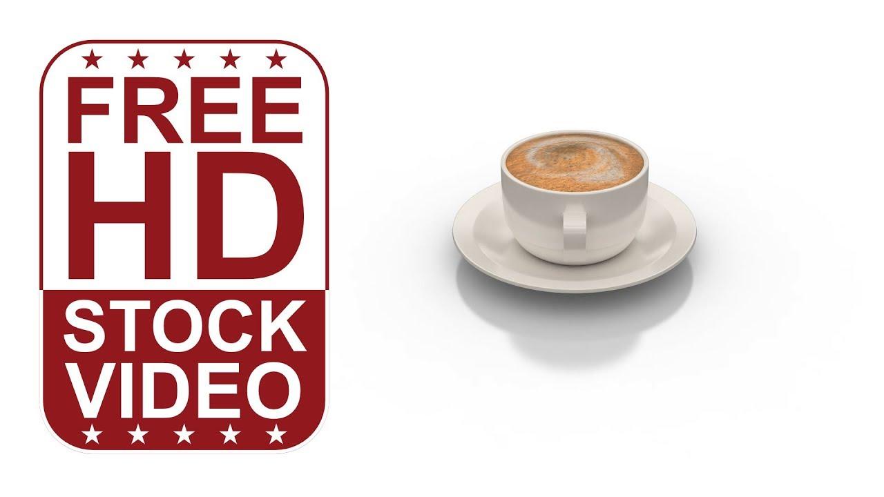 hot coffee white background - photo #27