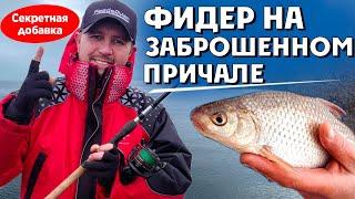 Фидер 2020 Ноябрь холодно но рыба клюет Рабочая добавка для осенней рыбалки