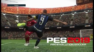 Pes 2019 Demo - Goals- Skills & Goalkeeper Saves #3 - PS4 - HD