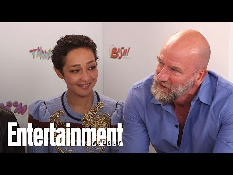 Preacher Cast Teases 'Really Filthy' Sex Scene | SDCC 2017 | Entertainment Weekly