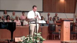 First Hemet  - June 2, 2013 AM service -  Soprano Saxophone Solo   4of7