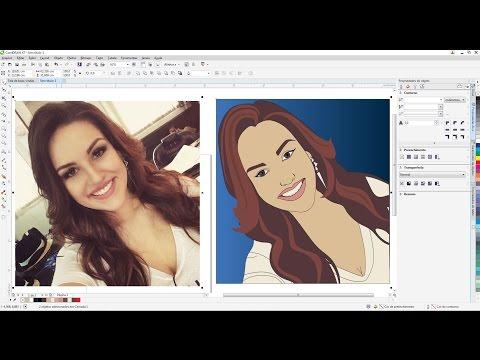 Como Transformar Foto Em Desenho Coreldraw