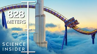 What If You Built A Coaster As Tall As The World's Tallest Building?