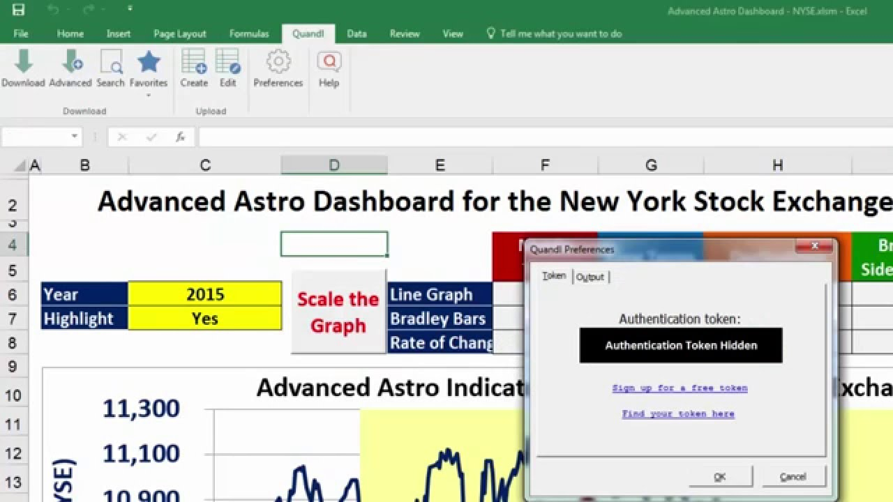How to Install the Free Quandl Add In for Microsoft Excel