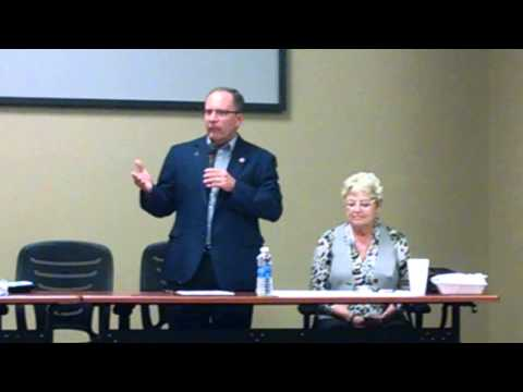 Big Lake Broadband Mtg: Senator Dave Brown