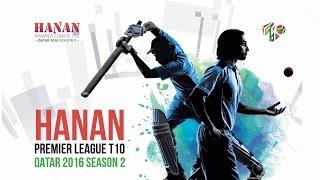 Fabulous Batting By Krishna Satpute in Hanan Premier League T10, Qatar 2016