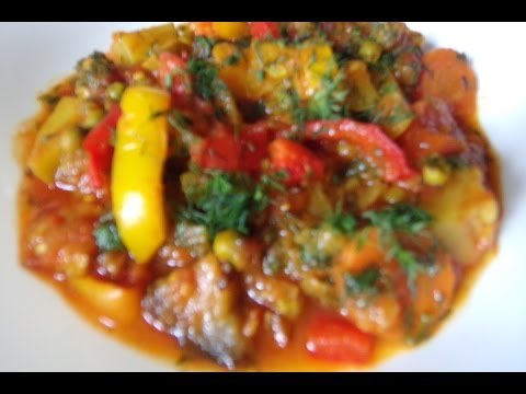 Tocananita  de legume   Reteta video
