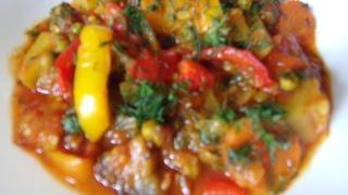 Tocanita  de legume   Reteta video