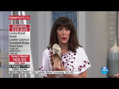 HSN | Lucky Brand Footwear 05.18.2017 - 12 AM