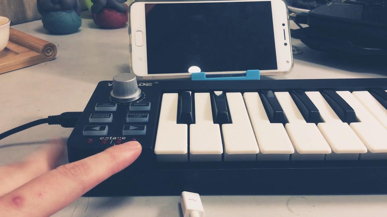 Hướng dẫn kết nối midi controller / keyboard vào điện thoại, máy tính bảng để làm nhạc, tạo beat