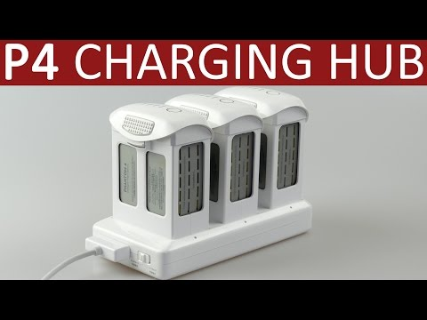 Battery Charging Hub for DJI Phantom 4 | Hands-on Review