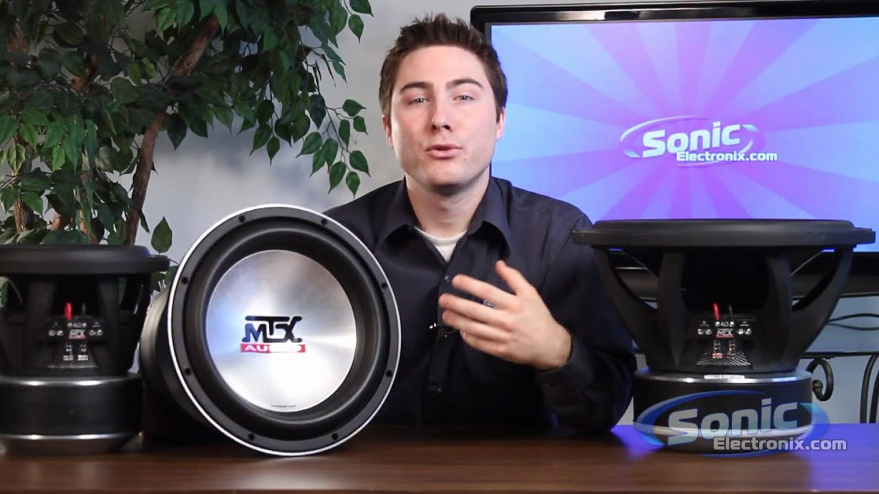 mtx 9500 car subwoofer mtx audio thunder 9500 competition subwoofers [ 1280 x 720 Pixel ]