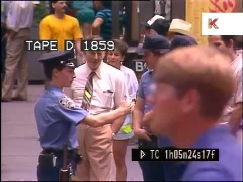 1980s New York, Wall Street, Banks, Manhattan